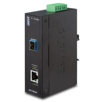 PLANET IXT-705AT Industrial 10G/5G/2.5G/1G/100M Copper to 10GBASE-X SFP+ Media Converter